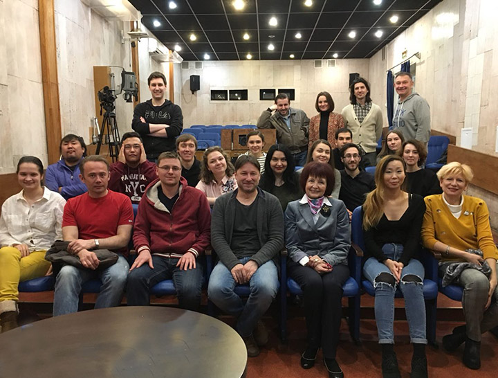 Мастер-класс Алексея Айги  4 апреля 2018