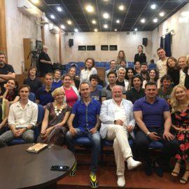 Мастер-классы В.Хотиненко и И.Квирикадзе