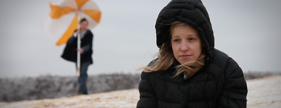 Кадр из фильма «Диалоги», выпускницы ВКСР — Ирины Волковой