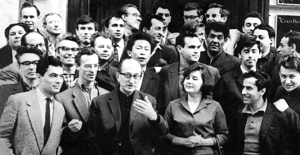 Первый выпуск ВКСР, 1964 год, мастерская Михаила Ромма