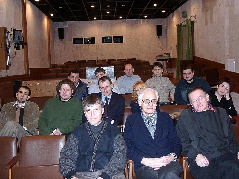 Мастерская режиссуры игрового фильма<br> Наумова В.Н., <br>Добровольского А.М., <br>Митько Е.Н.