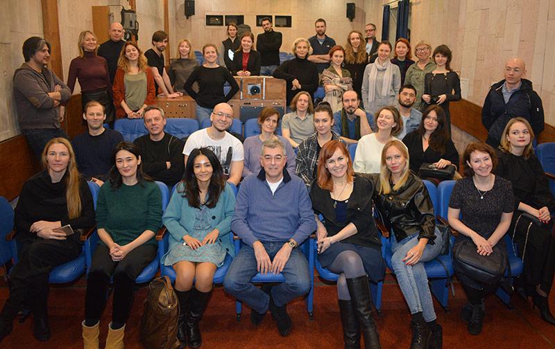 Мастер-класс продюсера И.А.Толстунова янв 2020